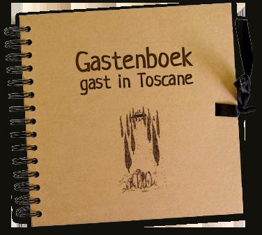 Gastenboek van Gast In Toscane